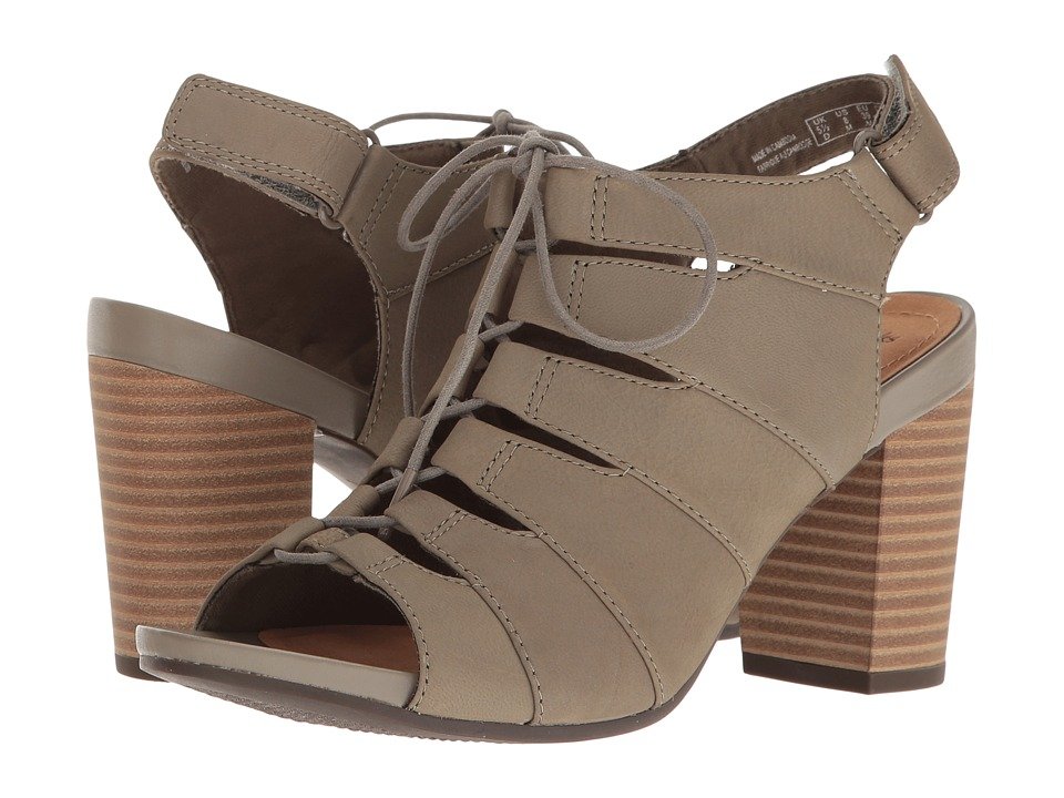 Clarks - Banoy Waneta (Sage Nubuck) Women's Sandals
