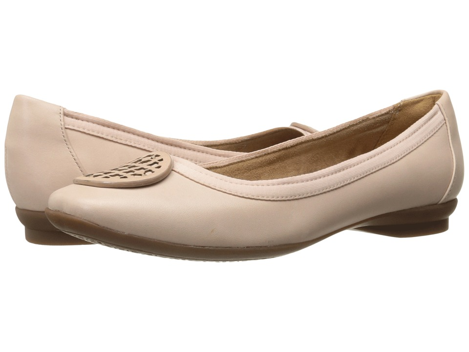 Clarks - Candra Blush (Dusty Pink Leather) Women's Shoes