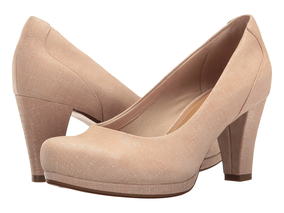 Clarks - Chorus Chic (Nude Interest) Women's Shoes