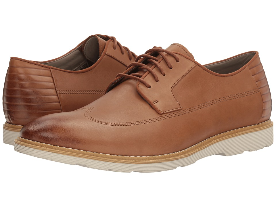 Clarks - Gambeson Style (Tan Leather) Men's Shoes