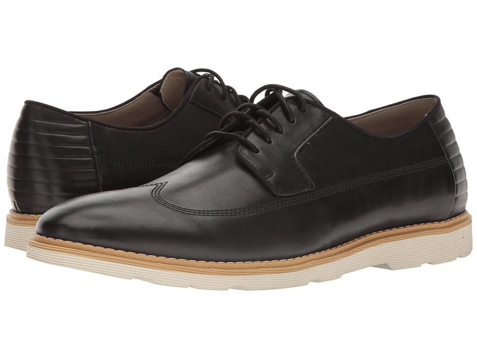 Clarks - Gambeson Style (Black Leather) Men's Shoes