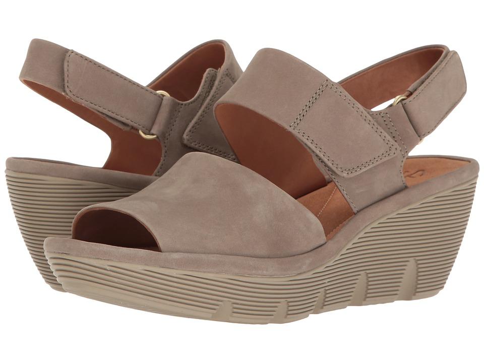 Clarks - Clarene Allure (Sage Nubuck) Women's Sandals