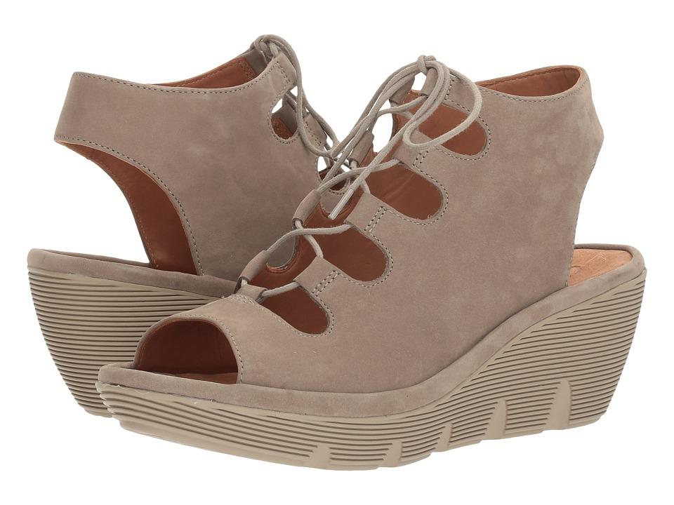Clarks - Clarene Grace (Sage Nubuck) Women's Sandals