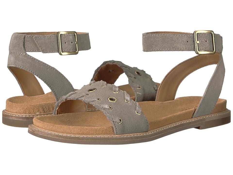 Clarks - Corsio Amelia (Sage Suede) Women's Sandals