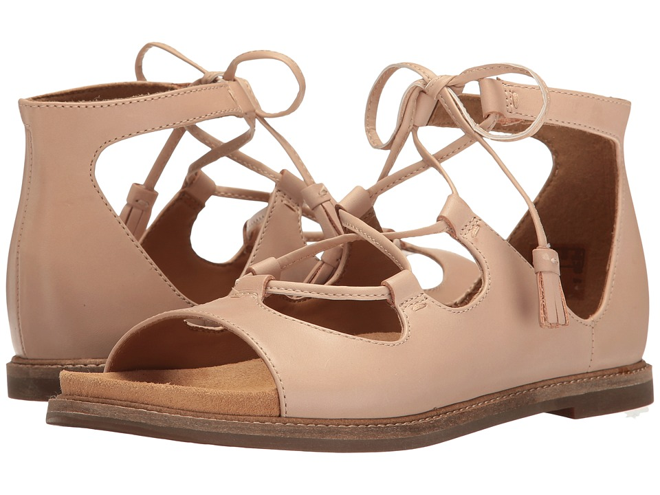 Clarks - Corsio Dallas (Nude Leather) Women's Sandals