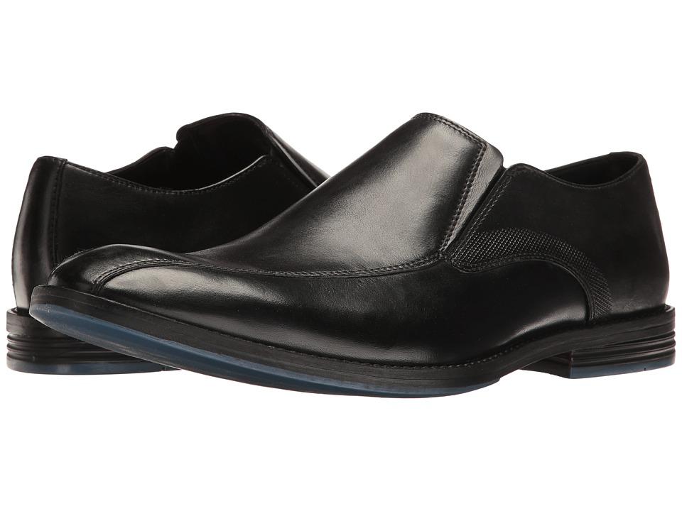 Clarks Prangley Step (Black Leather) Men