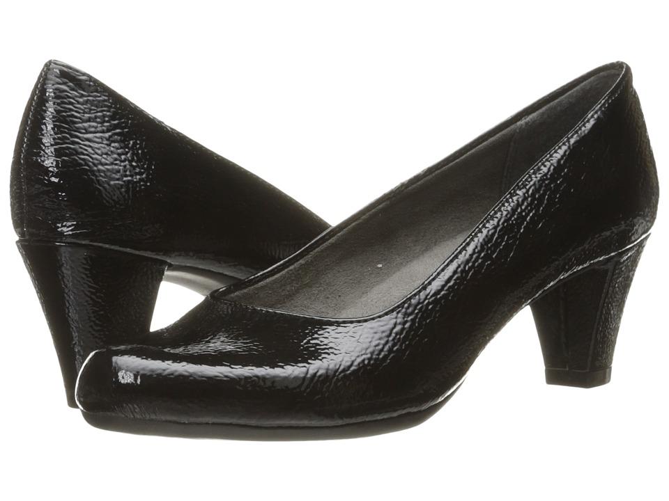 A2 by Aerosoles Redwood 2 (Black Patent) Women