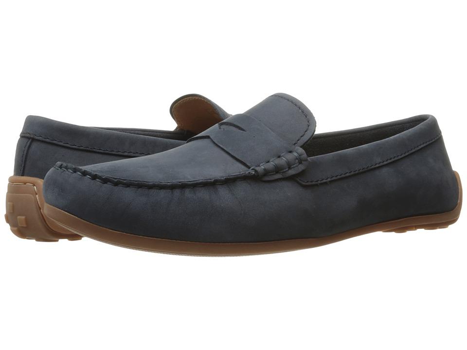 Clarks - Reazor Drive (Navy Nubuck) Men's Shoes
