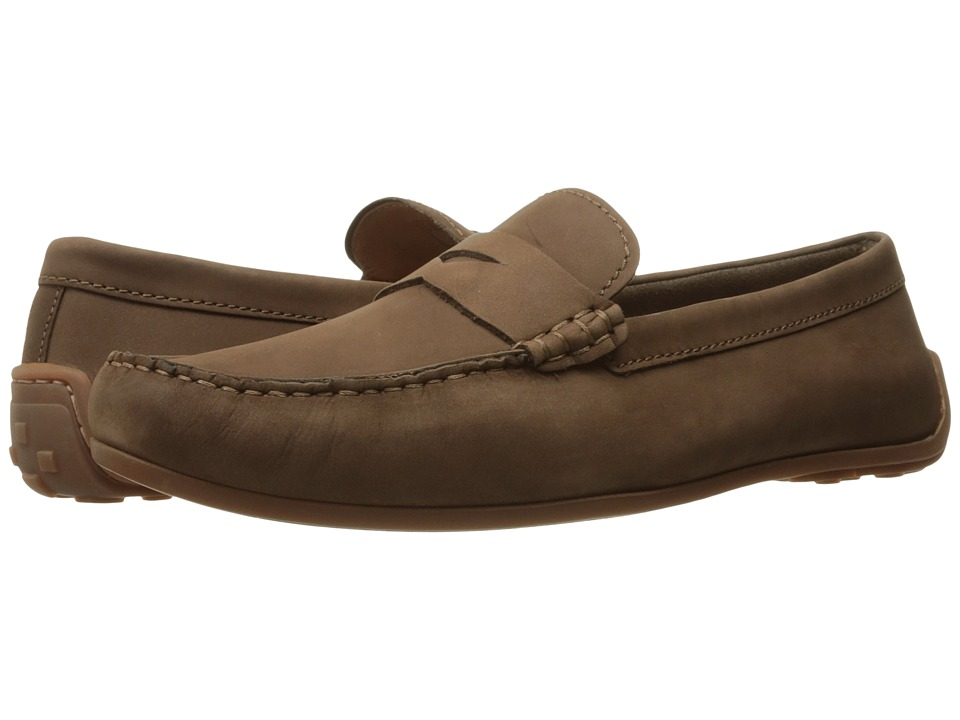 Clarks - Reazor Drive (Brown Nubuck) Men's Shoes