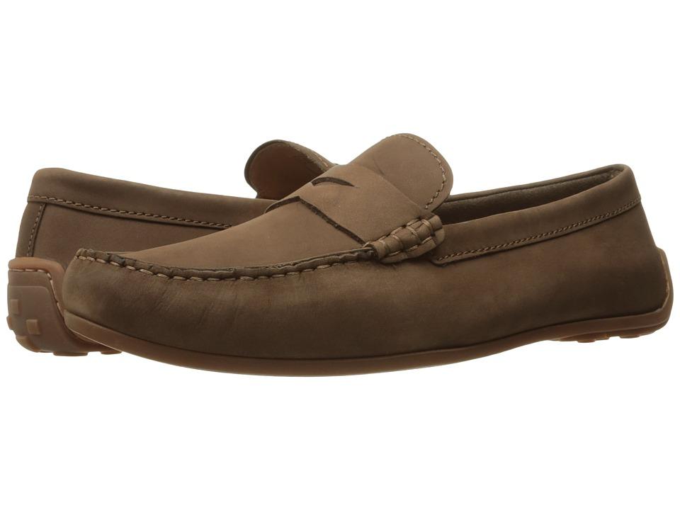 Clarks - Reazor Drive (Brown Nubuck) Men's Shoes