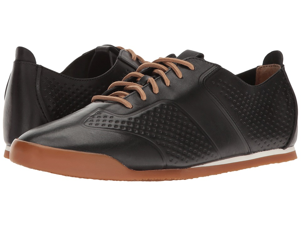 Clarks - Siddal Sport (Black Leather) Men's Shoes
