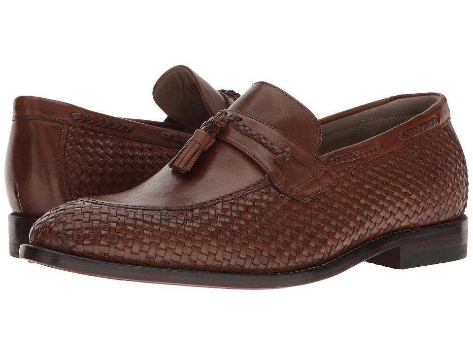 Clarks Twinley Free (Tan Woven Leather) Men