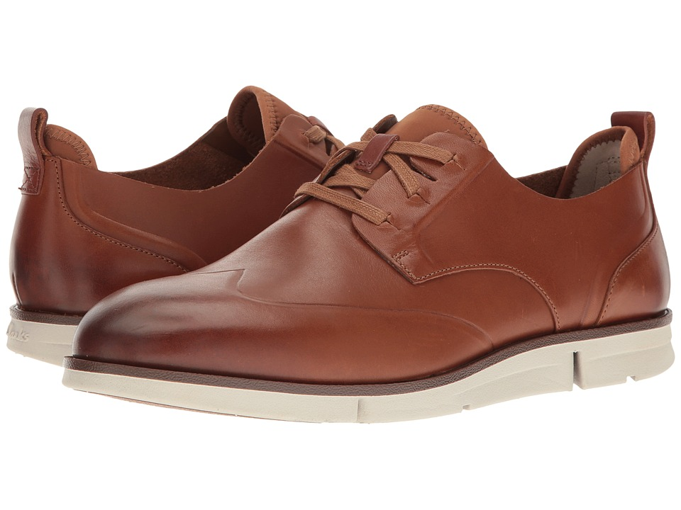Clarks - Trigen Wing (Tan Leather) Men's Shoes