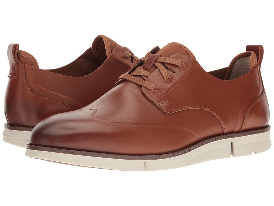 Clarks - Trigen Wing (Tan Leather) Men's Shoes