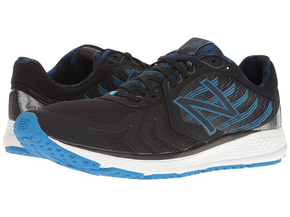New Balance - Vazee Pace (Black/Electric Blue) Men's Running Shoes