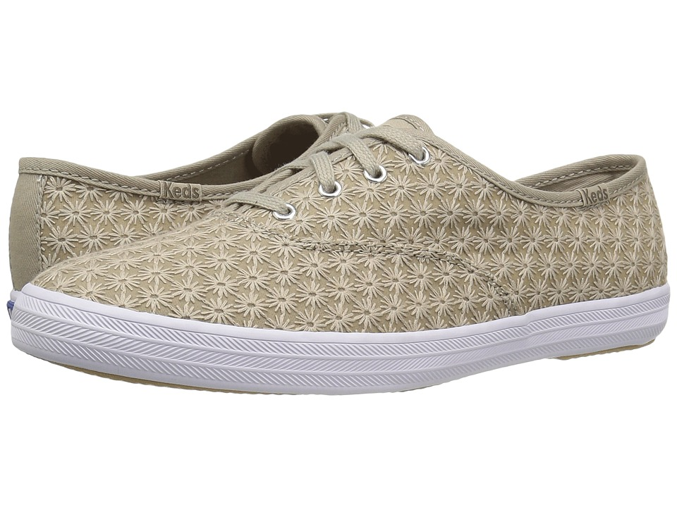 Keds Champion Mini Daisy (Vintage Khaki) Women