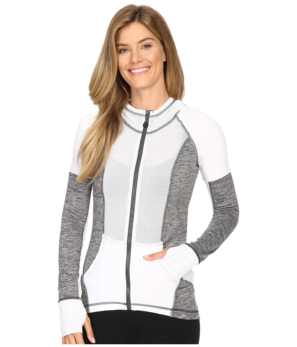 XCVI - Movement by XCVI Sonoma Zip-Up Jacket (White) Women's Jacket