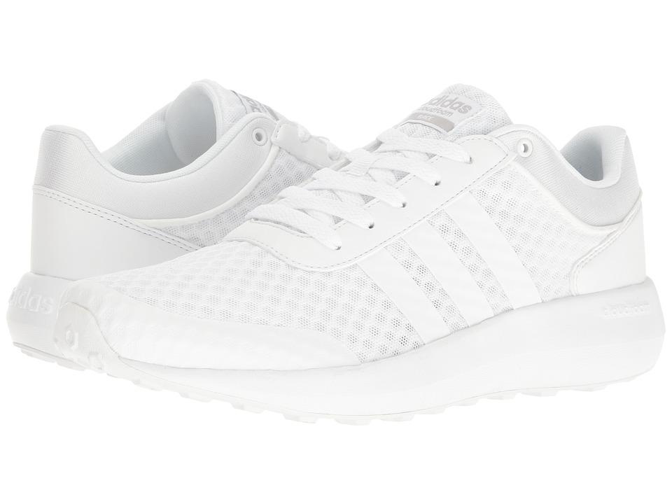 adidas Cloudfoam Race (White/Clear Onix) Men