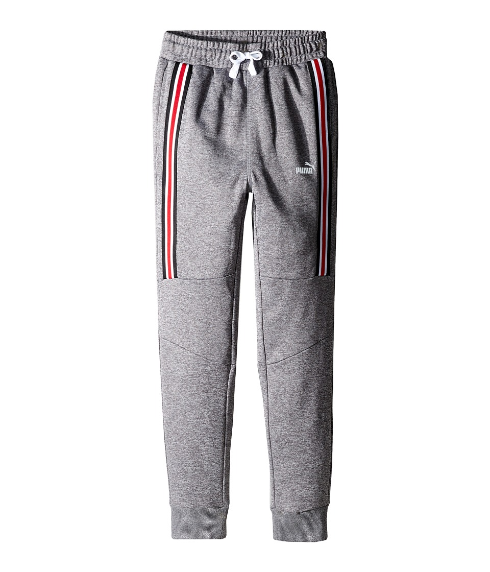 Puma Kids - #1 Cat Jogger Pants (Big Kids) (Charcoal Heather) Boy's Casual Pants