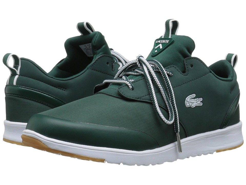 Lacoste - L.Ight 2.0 Rei Sport (Dark Green/Dark Green) Men's Shoes