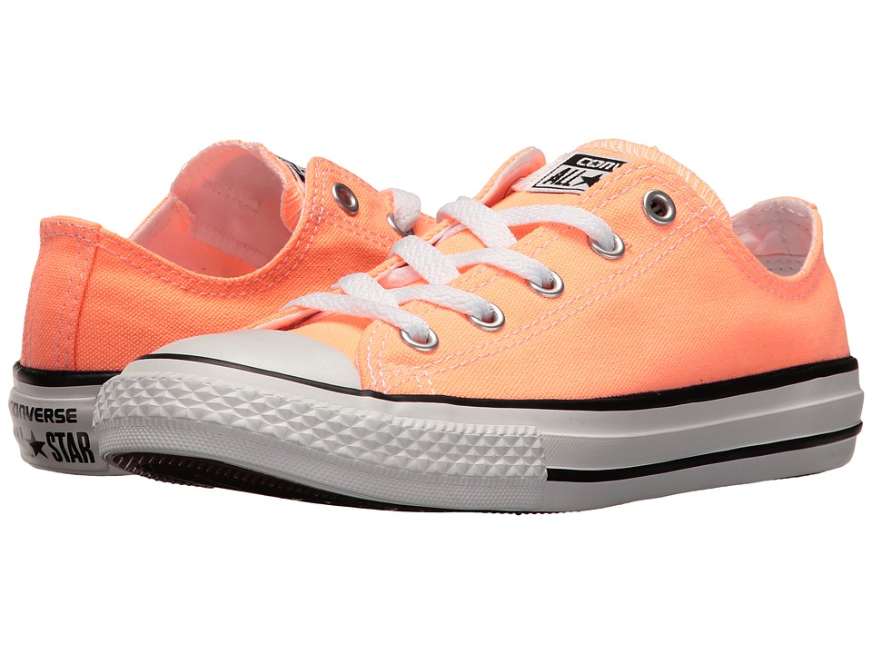 Converse Kids - Chuck Taylor All Star Ox (Little Kid) (Sunset Glow) Girl's Shoes