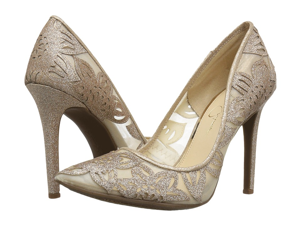 Jessica Simpson Charese (Gold Dusty Glitter) Women