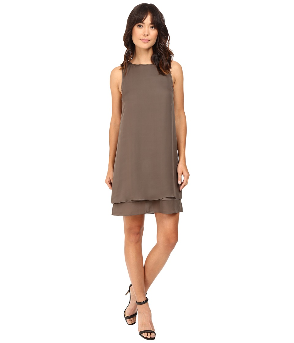 HEATHER - Georgette Layered Dress (Deco) Women's Dress