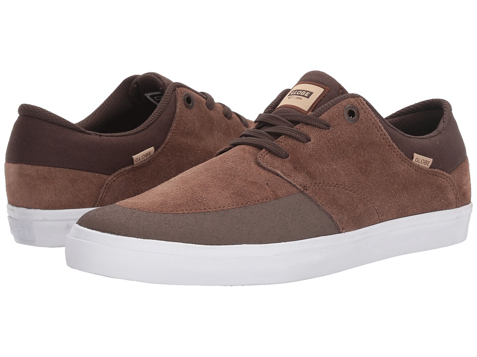 Globe - Chase (Brown/White) Men's Lace up casual Shoes