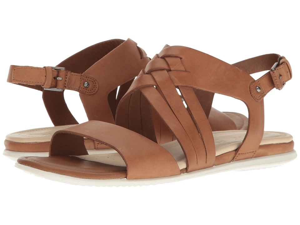 ECCO - Touch Braided Sandal (Whisky Cow Nubuck) Women's Sandals