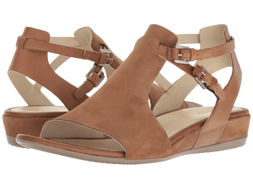 ECCO - Touch 25 Hooded Sandal (Camel/Whiskey Muze Cow Nubuck) Women's Sandals