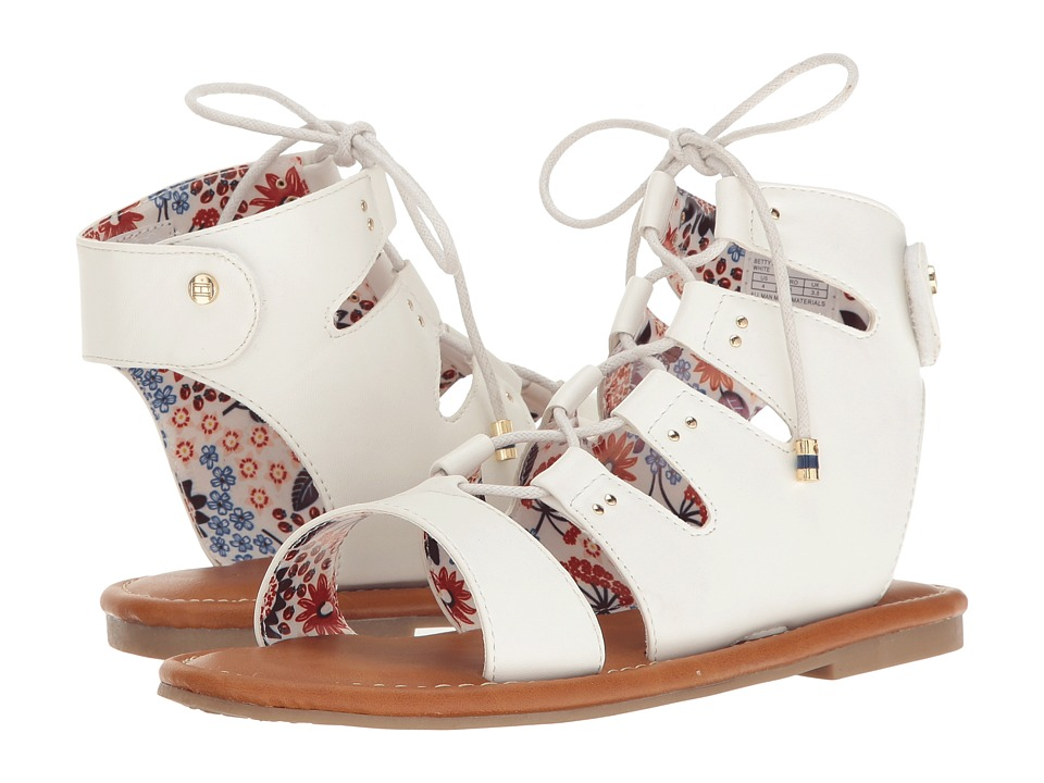 Tommy Hilfiger Kids - Betty Joan (Little Kid/Big Kid) (White) Girl's Shoes