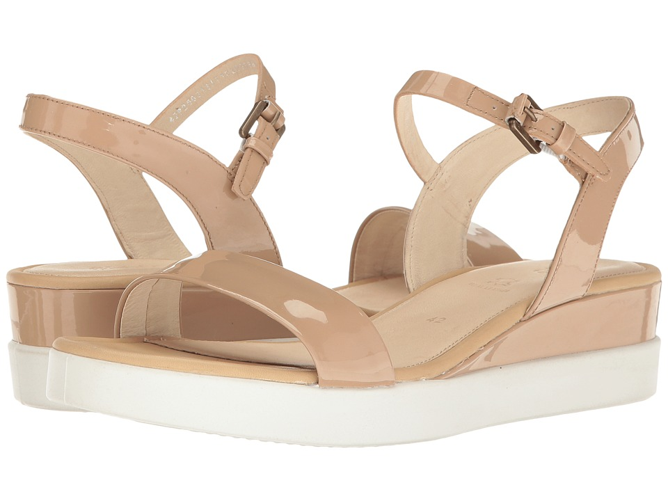 ECCO - Touch Sandal Plateau (Ginger Cow Leather) Women's Sandals