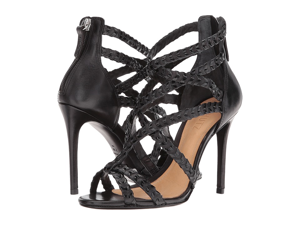 Schutz - Looney (Black) Women's Shoes