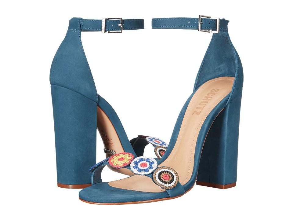 Schutz Luciola (Snorkel Blue) Women