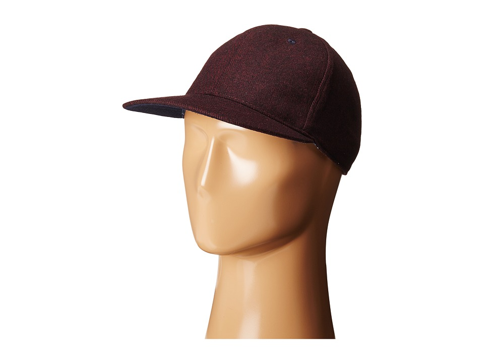 Ted Baker - Geezer (Dark Red) Baseball Caps