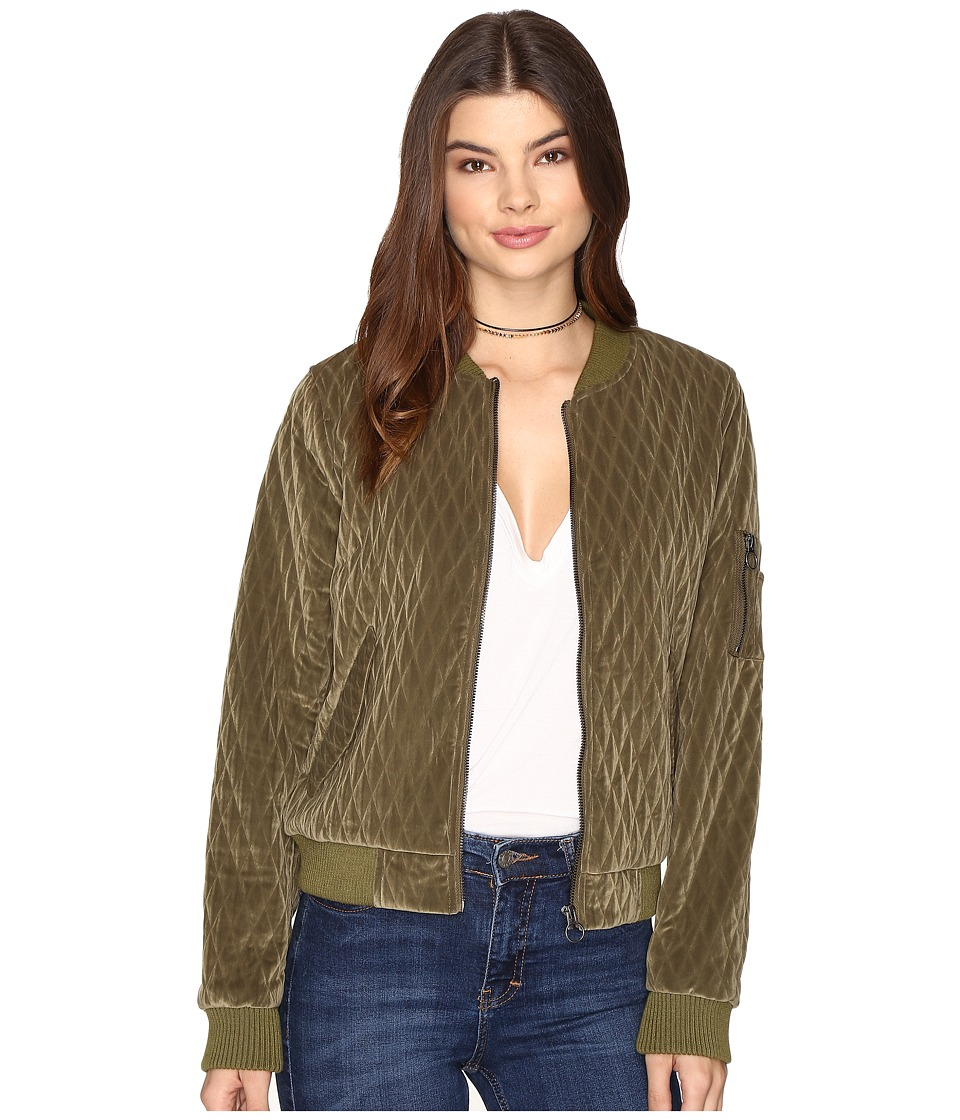 ONLY - Darion Bomber Jacket (Beech) Women's Coat