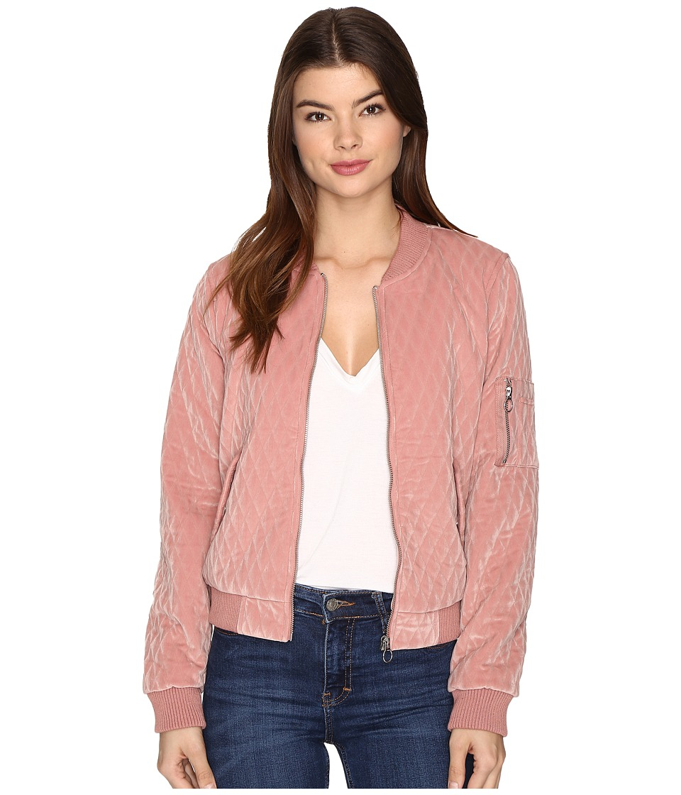 ONLY - Darion Bomber Jacket (Ash Rose) Women's Coat
