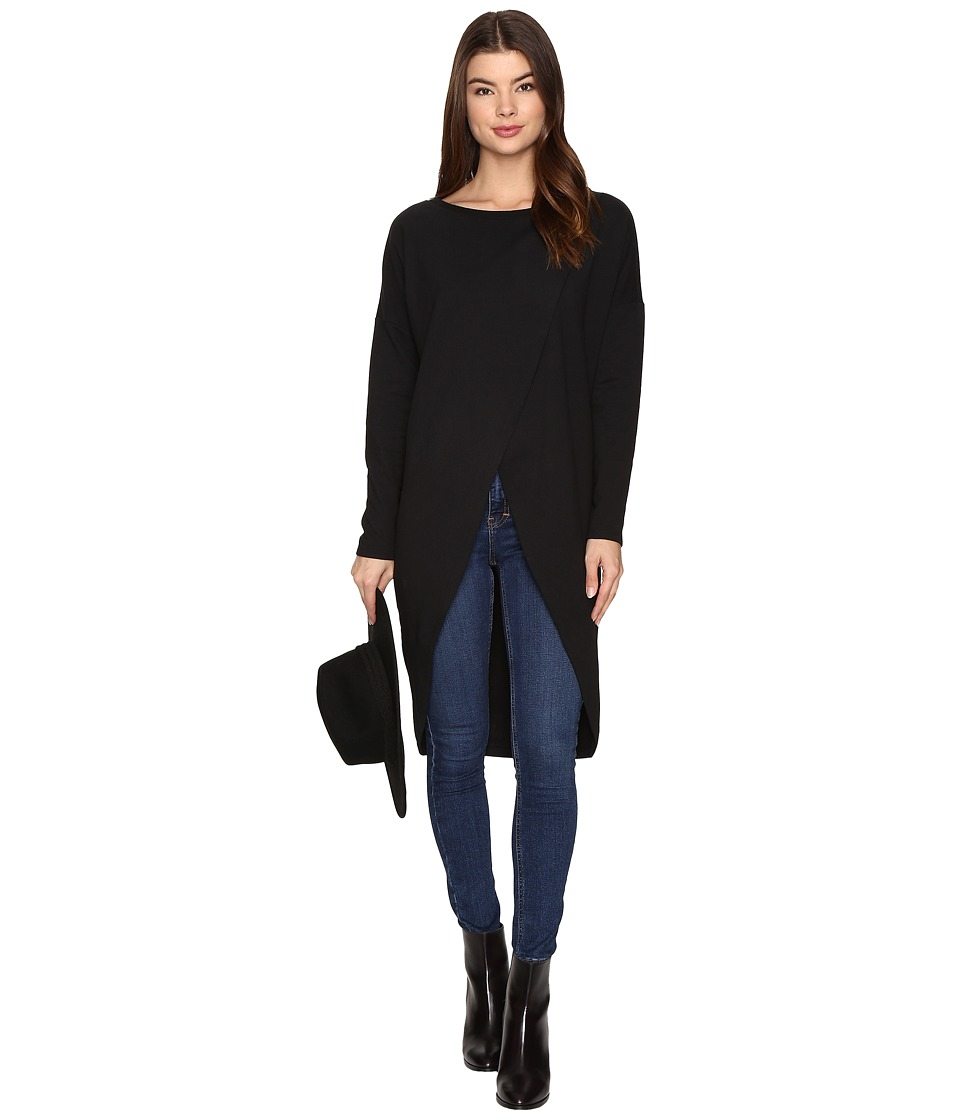 ONLY - Vivi O-Neck Long Sweater (Black) Women's Sweater