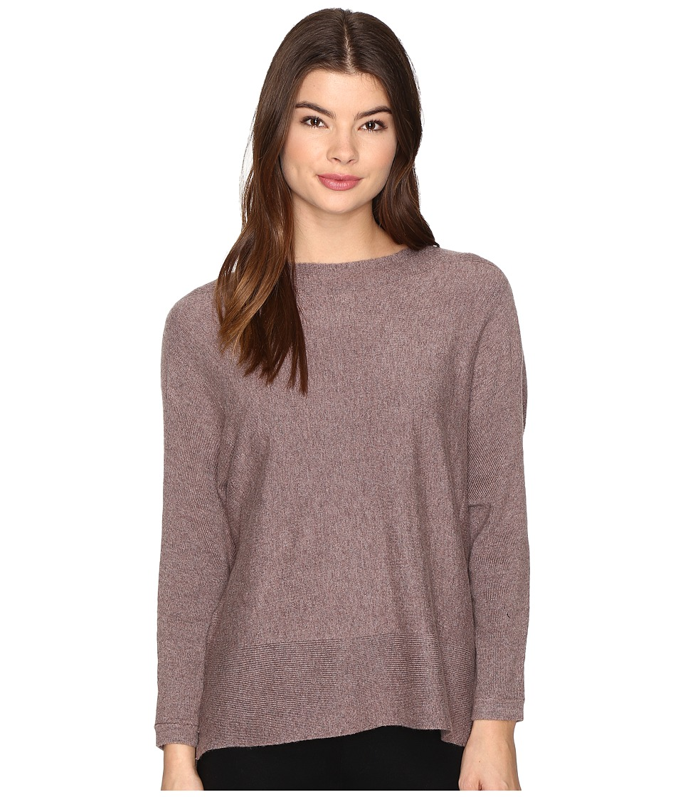 ONLY - Filipa 7/8 Pullover (Deep Taupe Melange) Women's Clothing