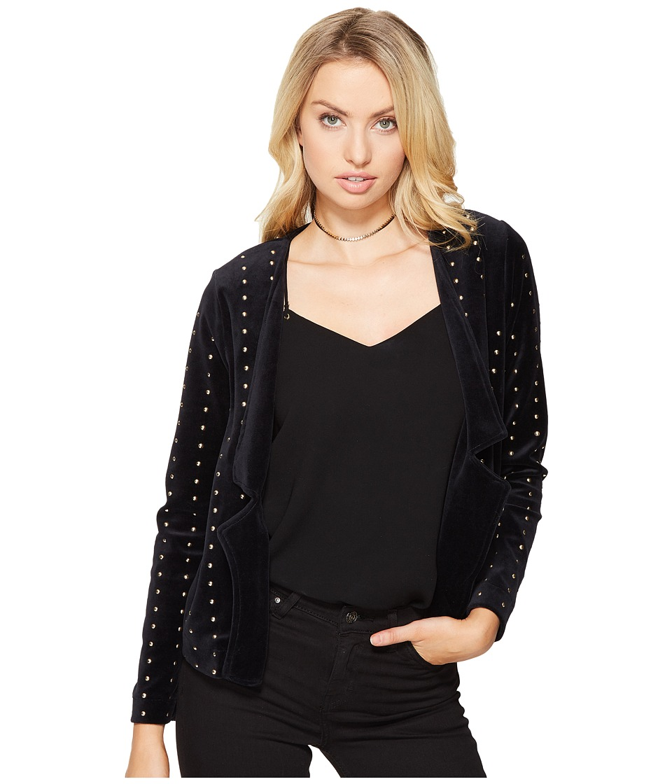 ONLY - Ultra Velvet Studs Blazer (Black) Women's Jacket