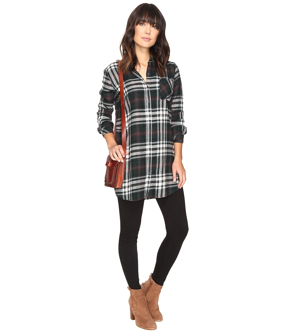 ONLY - Claire Oversize Shirt (Scarab) Women's Clothing