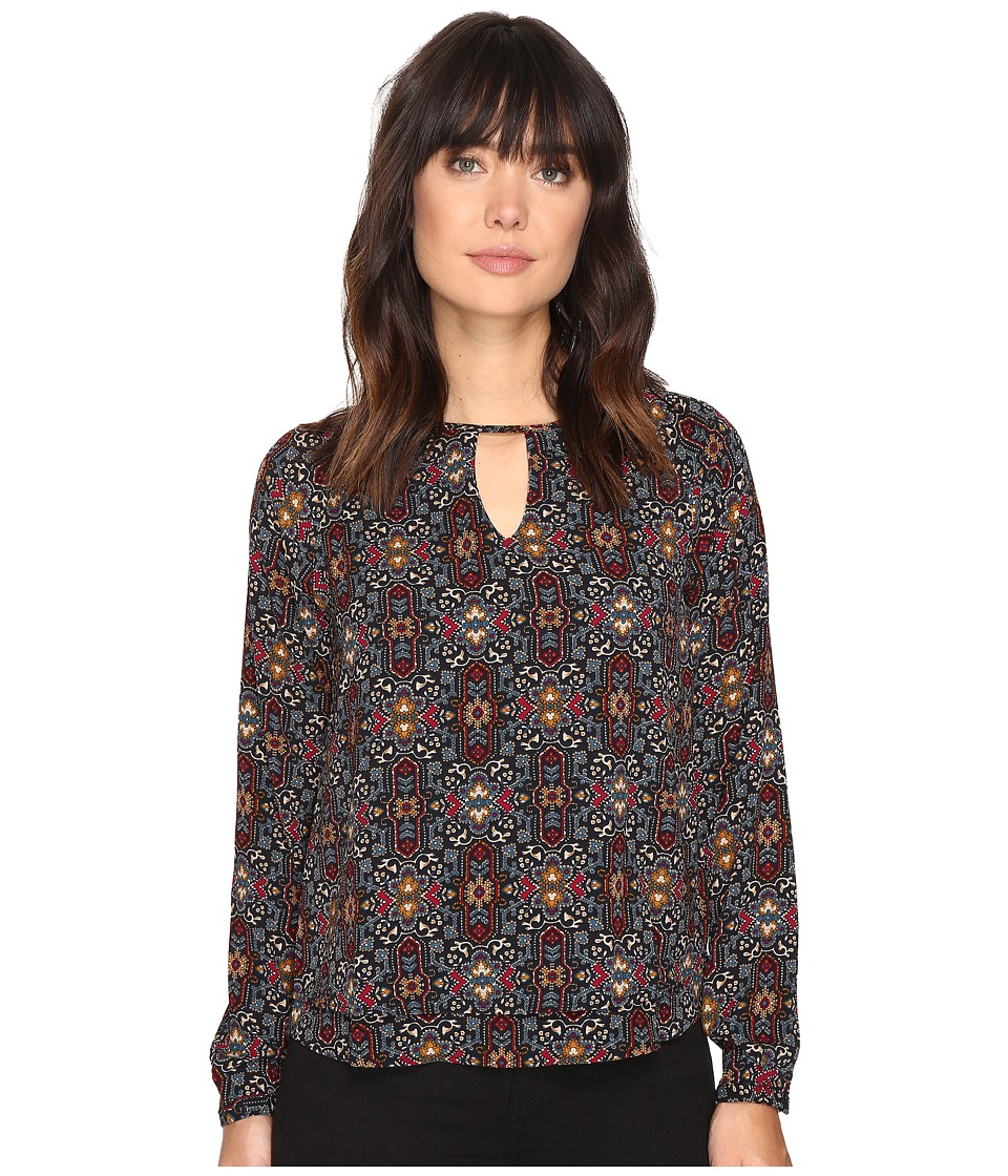 ONLY - Mariana Myrina Top (Rhododendron Print) Women's Clothing