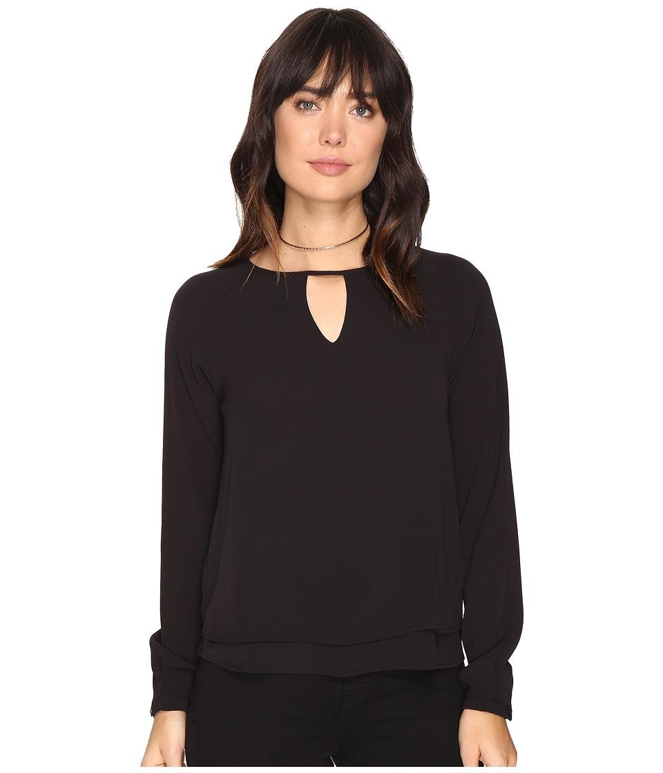 ONLY - Mariana Myrina Top (Black) Women's Clothing