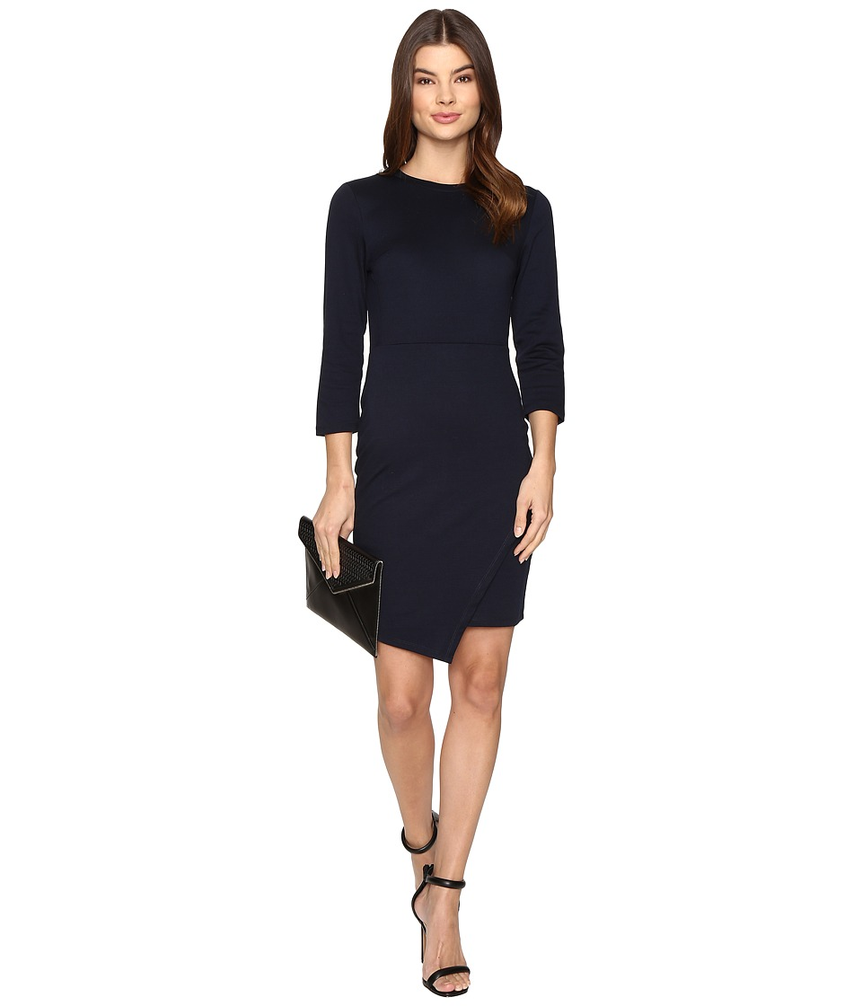 ONLY - Sandra 3/4 Dress (Night Sky) Women's Dress