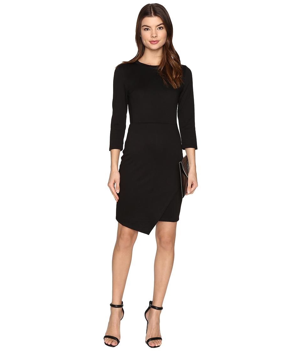 ONLY Sandra 3/4 Dress (Black) Women
