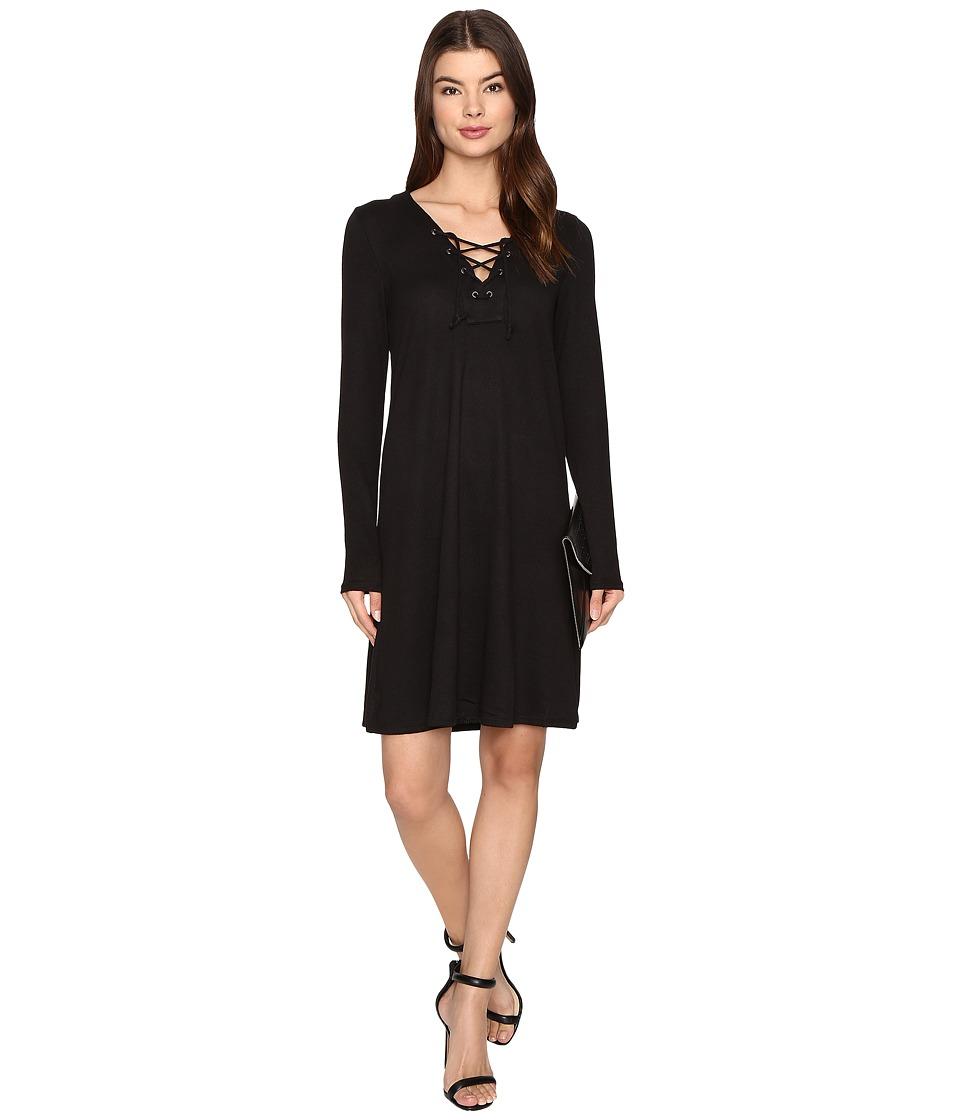 ONLY - Sanna A-Shape Dress (Black) Women's Dress
