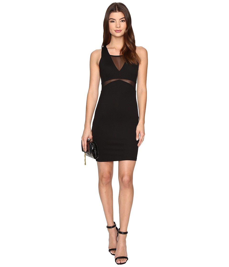 ONLY - Charlot Mesh Dress (Black) Women's Dress