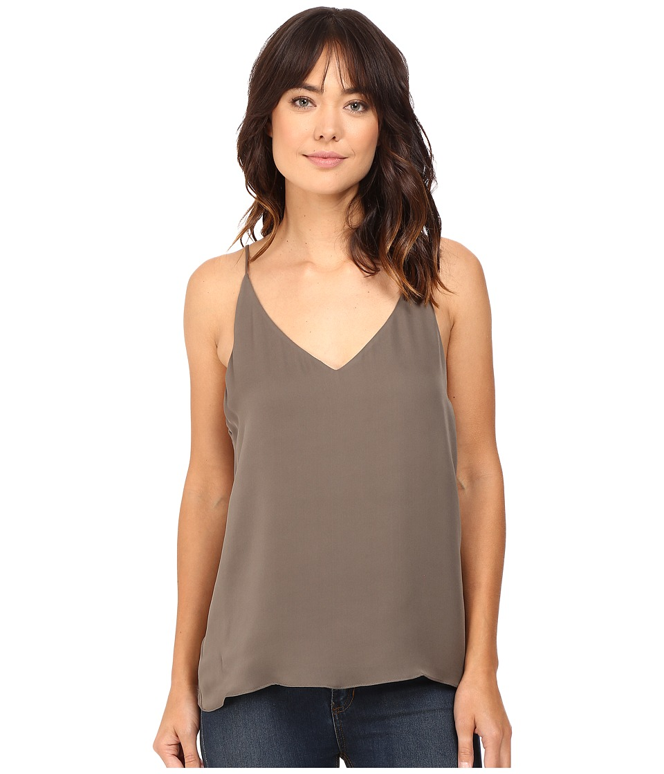 HEATHER - Silk Double Layer Cami Top (Deco) Women's Clothing