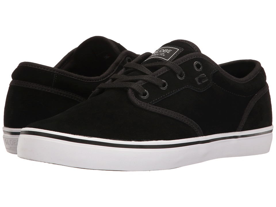Globe - Motley (Black Suede) Men's Skate Shoes