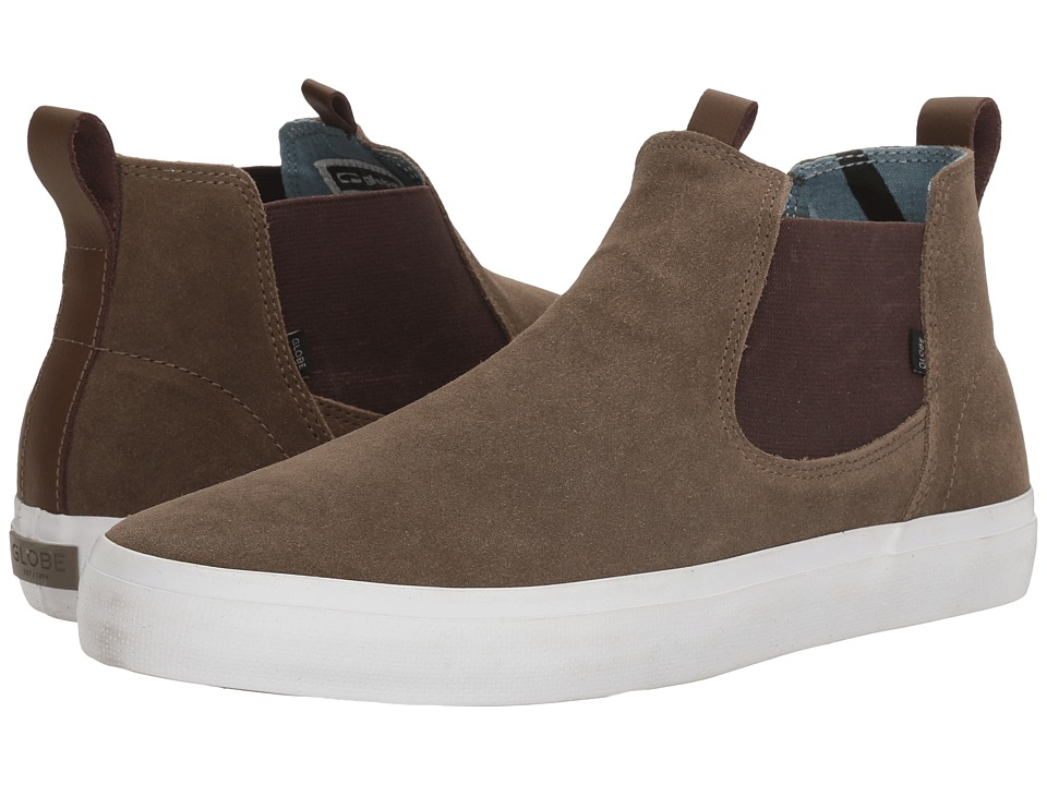 Globe - Dover (Walnut Shaved Suede) Men's Skate Shoes
